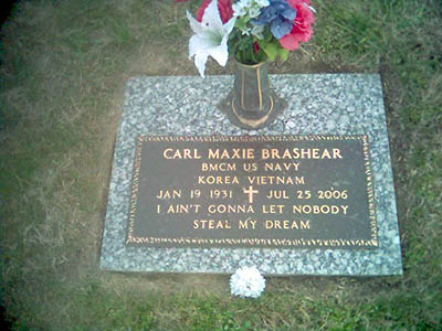 Lovely USNS Carl Brashear. Carl Brashearu0027s Headstone At Woodlawn Memorial Gardens  ...